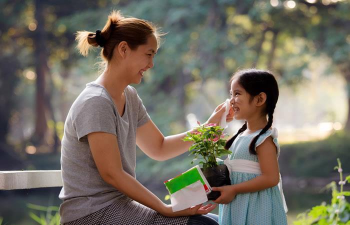 Ideas verdes que sorprenderán a mamá. Foto: Shutterstock