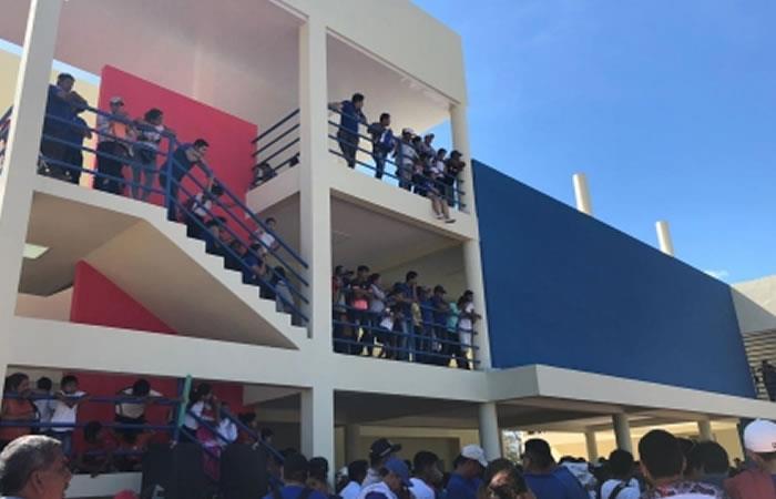 Nueva unidad educativa moderna en Trinidad. Foto: ABI.