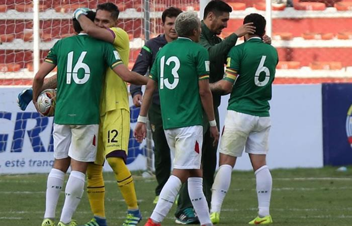 Jugadores de la selección boliviana. Foto: EFE