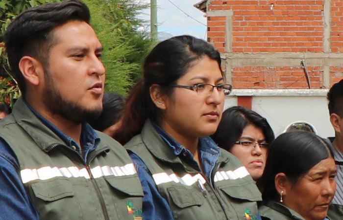 Jóvenes de Sucre que hacen parte de este proyecto del Ministerio de Trabajo. Foto: Twitter