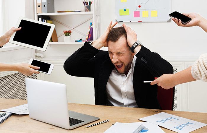 El estrés generado en el trabajo ahora es una enfermedad. Foto: Shutterstock