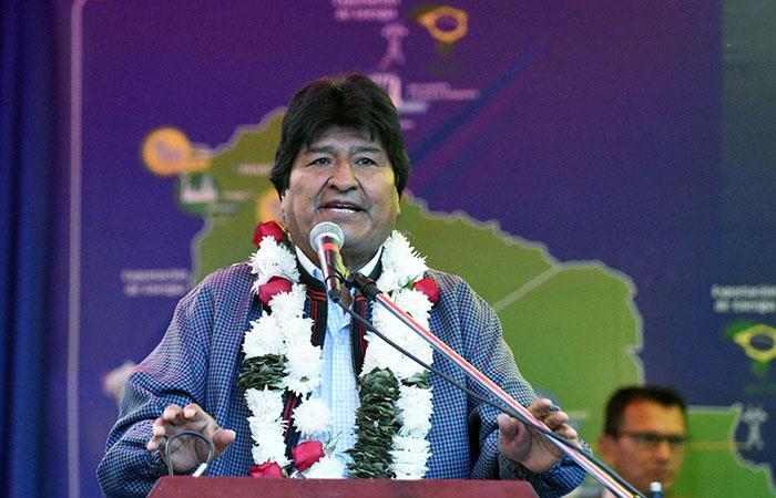 El Presidente de Bolivia inauguró la central San José II en Cochabamba. Foto: ABI