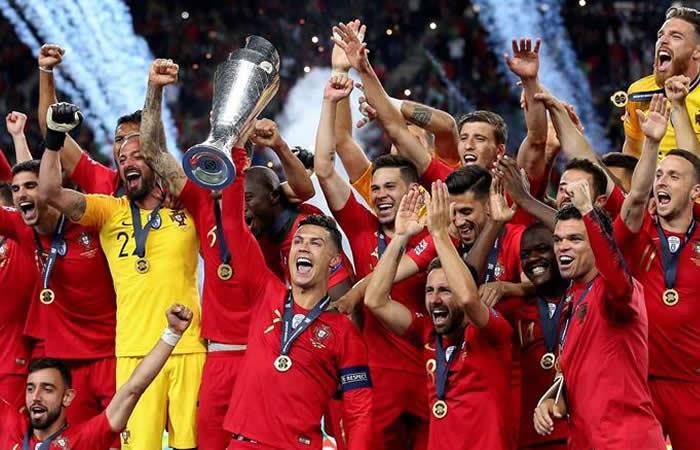 Portugal gana otro título con Cristiano Ronaldo a Bordo