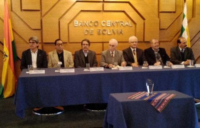La Conferencia Latinoamericana Imprenta de Alta Seguridad (High Security Printing) premió a los nuevos billetes. Foto: ABI.