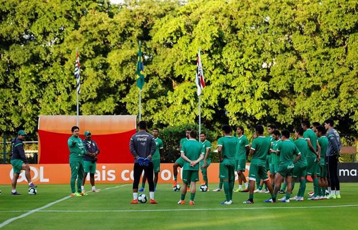 Exámenes antidopaje realizados a la selección Boliviana. Foto: EFE.
