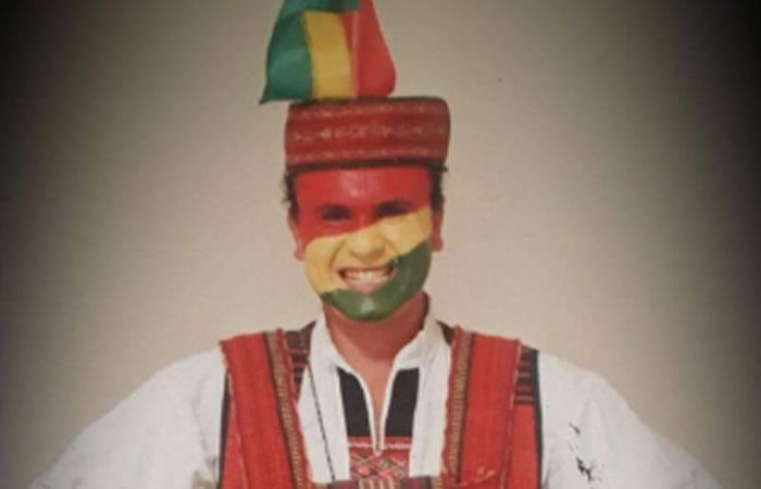 El 'Chasqui boliviano' estará en la Copa América 2019 apoyando a la selección. Foto: Twitter @soyboliviano