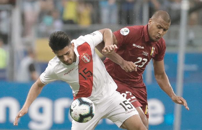 Copa América: Venezuela y Perú igualaron sin goles en su debut