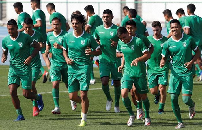 Copa América: Bolivia se entrena en Río de Janeiro pensando en Perú
