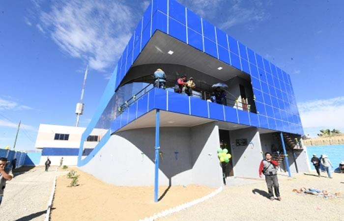 Sede nueva para la Asociación de Transportistas. Foto: ABI