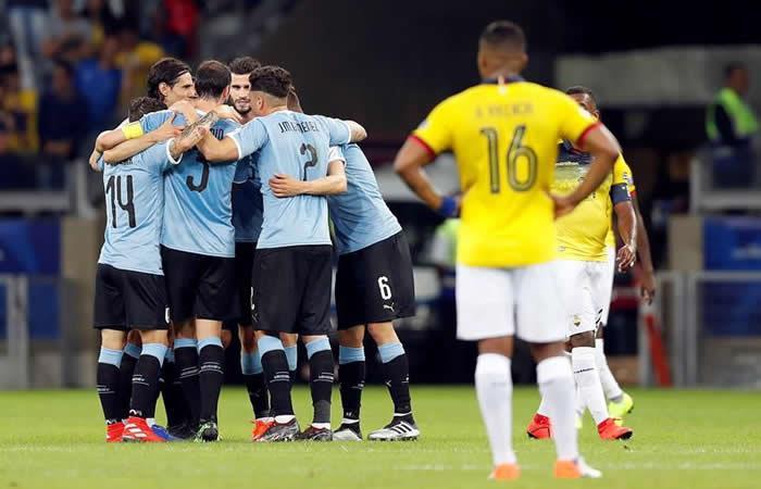 Uruguay vs. Ecuador - EFE