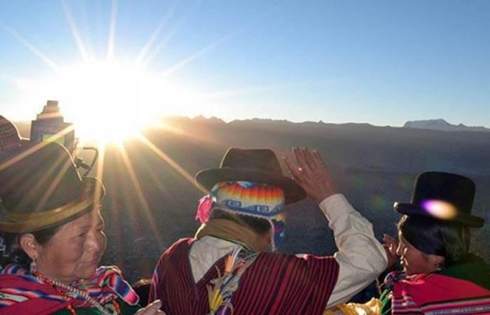 20 sitios ceremoniales para recibir 'Año Nuevo Andino Amazónico'