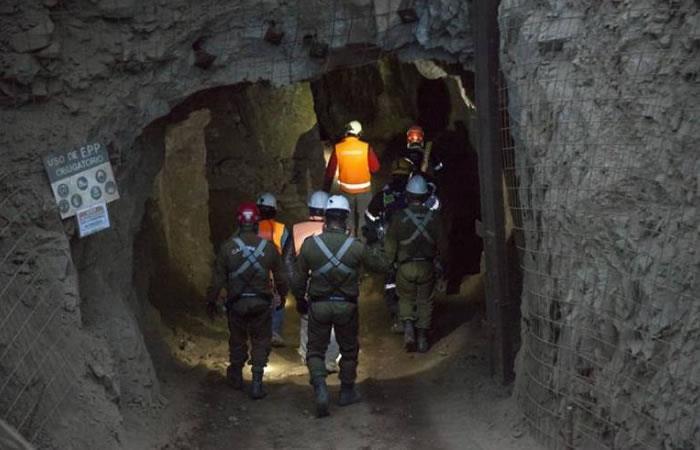 Rescate de mineros en Chile. Foto: EFE.