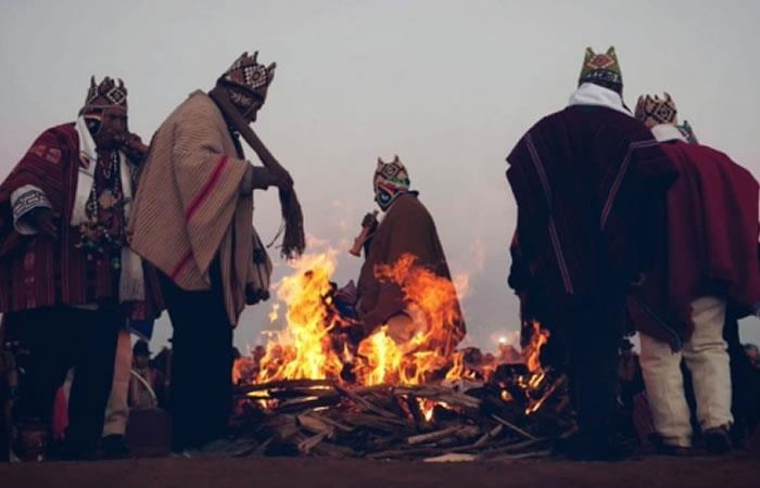 Evo Morales hace parte de la celebración del 'Año Andino Amazónico y del Chaco'. Foto: ABI.
