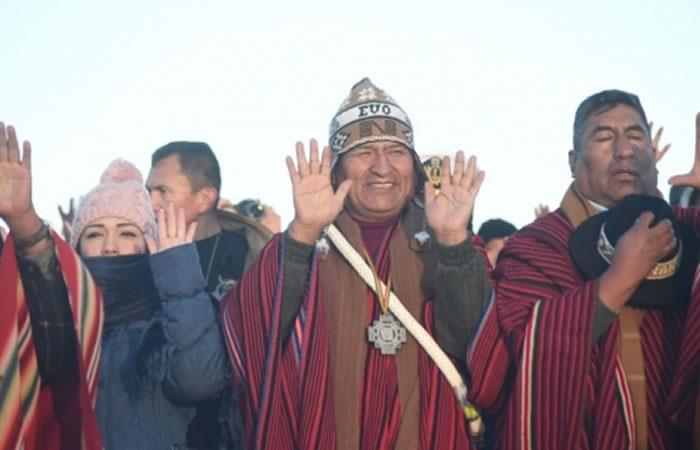 Presidente de Bolivia, Evo Morales. Foto: ABI.
