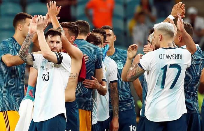 Copa América: Argentina logra un triunfo balsámico contra Catar para pasar a cuartos