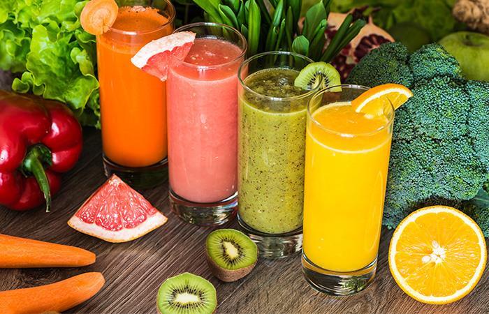 Bebidas naturales para limpiar la piel