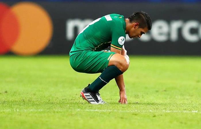 La selección boliviana vuelve a su país decepcionado de su participación en la Copa América. Foto: EFE.