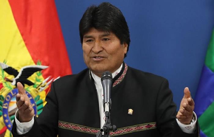 Presidente de Bolivia, Evo Morales. Foto: EFE