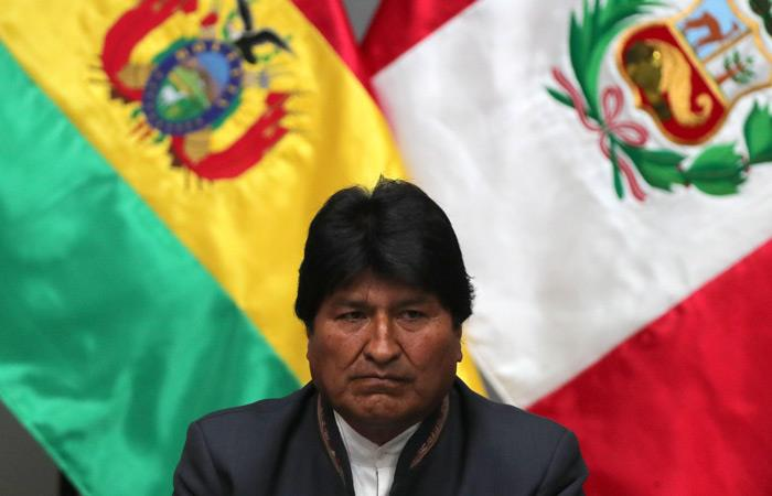 Evo Morales, presidente de Bolivia. Foto: EFE