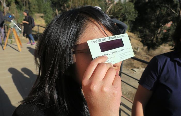 Eclipse solar en Bolivia fue considerado como un augurio de