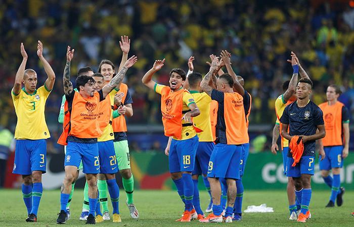 Brasil eliminó a Argentina 2-0 en la semifinal de la Copa América Brasil 2019. Foto: EFE