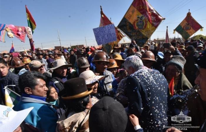 Vicepresidente de Bolivia, Álvaro García Linera. Foto: ABI