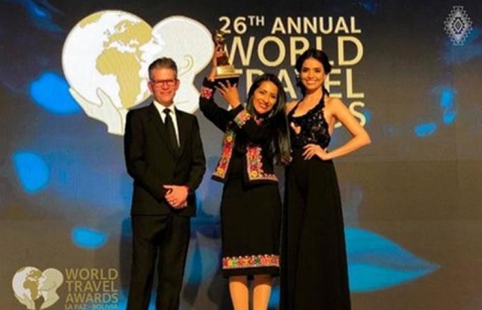 Bolivia gana cuatro 'World Travel Awards 2019'