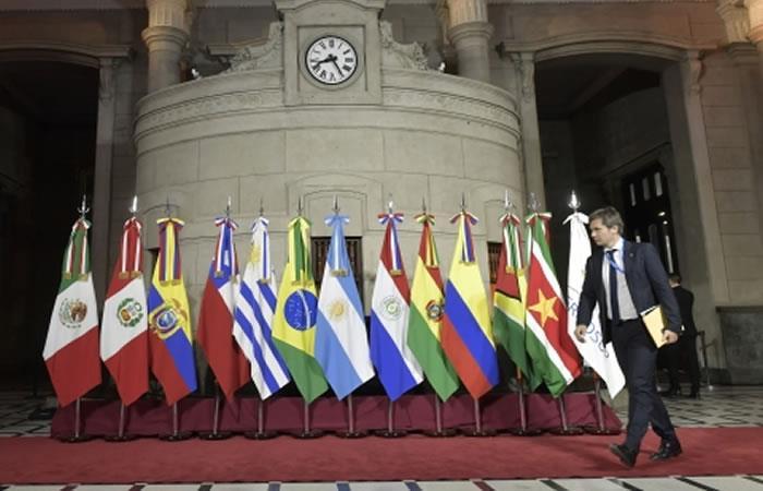 Este proyecto cuenta con el respaldo de varias naciones sudamericanas, europeas y asiáticas. Foto: ABI.