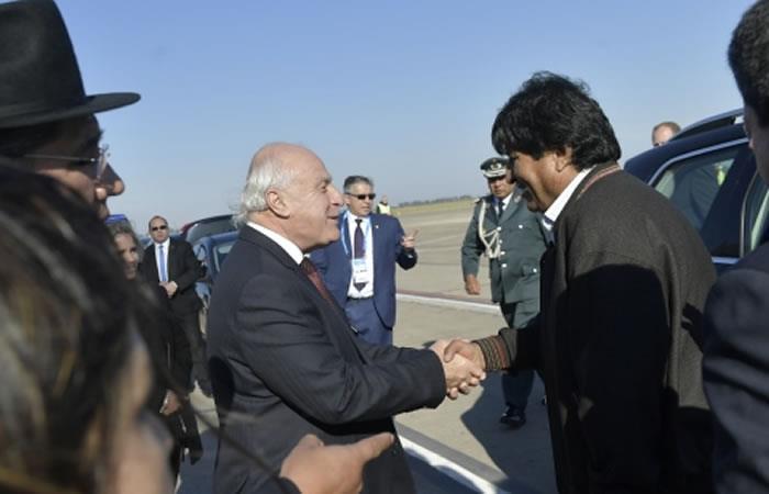 Presidente de Bolivia llega a Santa Fe