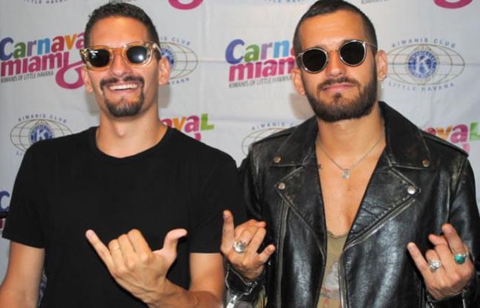 Los hermanos Mau y Ricky Montaner. Foto: EFE.