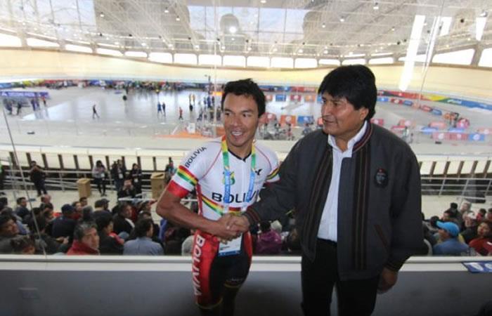 Morales irá a Lima a promocionar a Bolivia como sede para los juegos de 2027