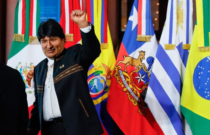 Evo Morales asistió a la cumbre de Mercosur realizada en Argentina. Foto: EFE