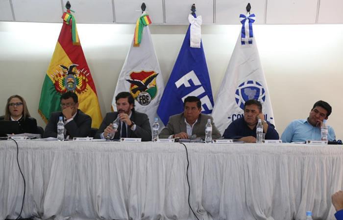 Consejo Superior de la División Profesional del Futbol Boliviano. Foto: Twitter oficial @FBF_BO