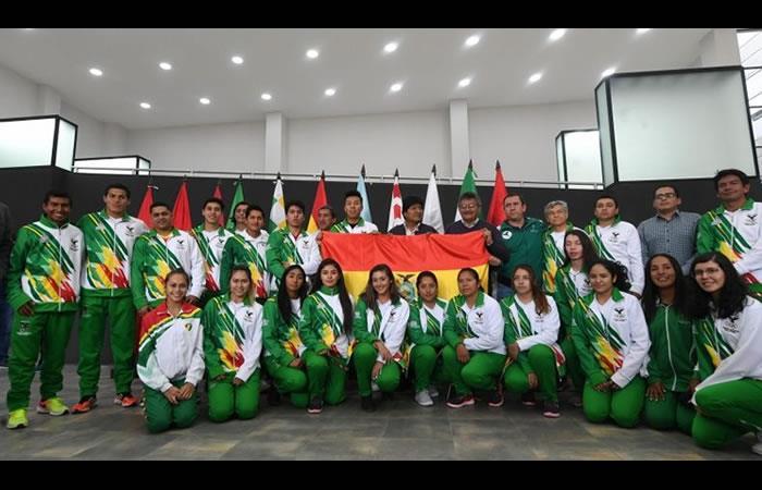 Deportistas que estarán en los Juegos Panamericanos de Lima 2019. Foto: ABI
