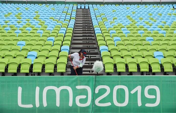 Juegos Panamericanos Lima 2019. Foto: EFE.