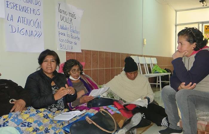 Ya llevan tres días en huelga de hambre. Foto: EFE.