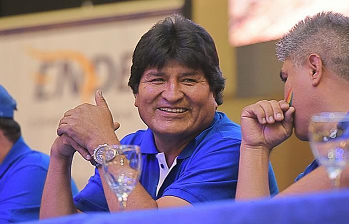 Evo Morales. Foto: ABI