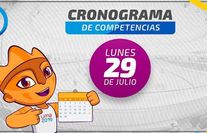 Cronograma Juegos Panamericanos Lima 2019. Foto: Twitter @Lima2019Juegos