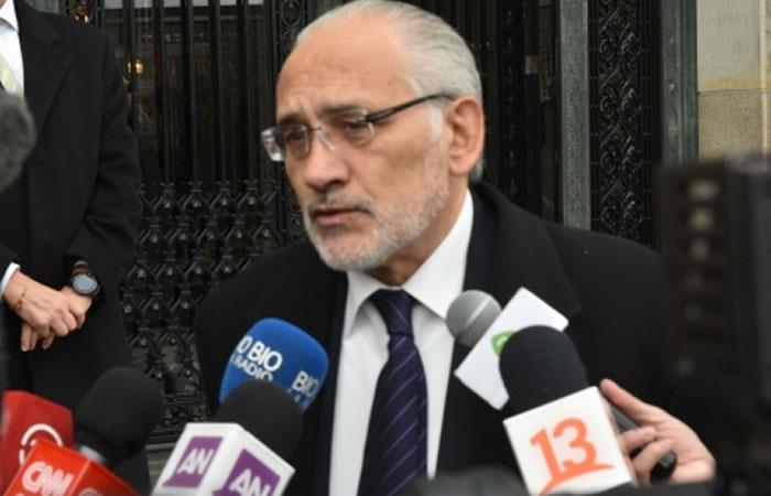 El exministro de Gonzalo Sánchez de Lozada, Mauricio Balcázar. Foto: ABI