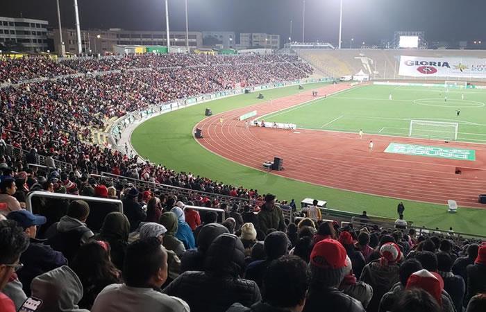 Partido de cierre de jornada de fútbol masculino. Foto: Twitter @Lima2019Juegos