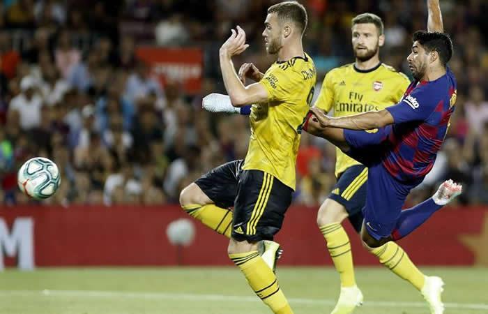 Luis Suárez le da el Trofeo Gamper al Barcelona en el último suspiro
