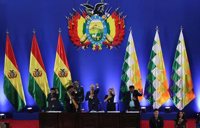 Morales festeja independencia boliviana