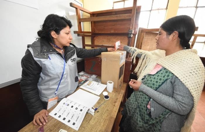 Bolivia elegirá 352 autoridades elecciones generales octubre