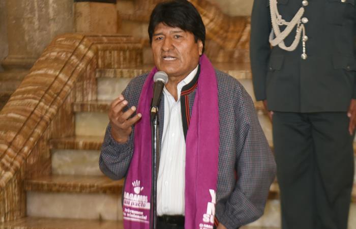 Evo Morales /. Foto: ABI