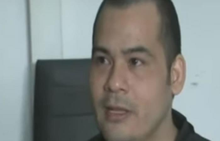 Víctor Parada Vargas, condenado a la pena de muerte en Malasia se salvó. Foto: Captura de YouTube.