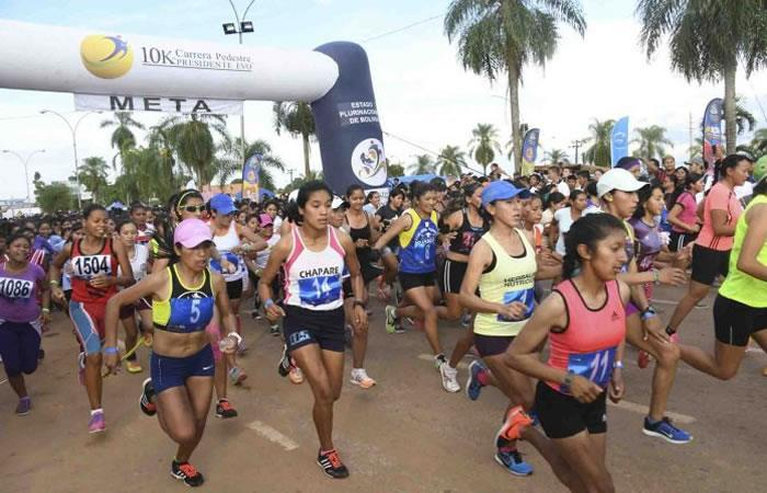 Una semana antes de la carrera, los atletas podrán inscribirse. Foto: ABI.