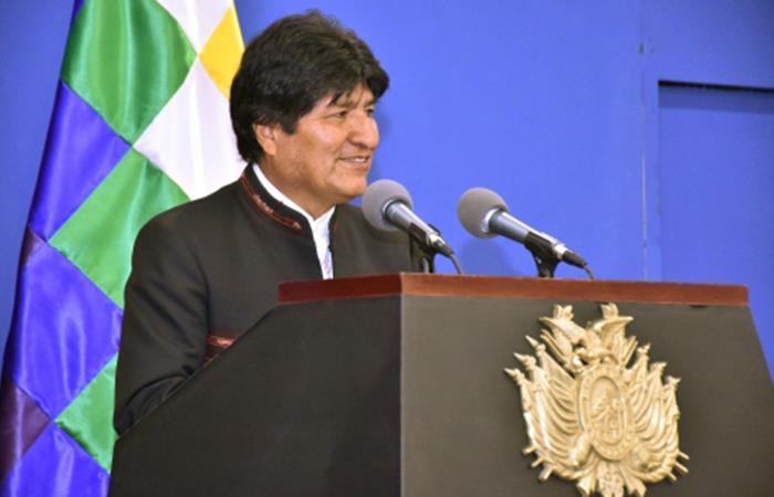 Evo Morales, presidente de Bolivia. Foto: Abi