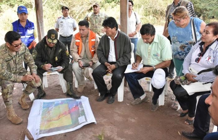 El Gobierno boliviano está ayudando a preservar a Chiquitania. Foto: ABI.