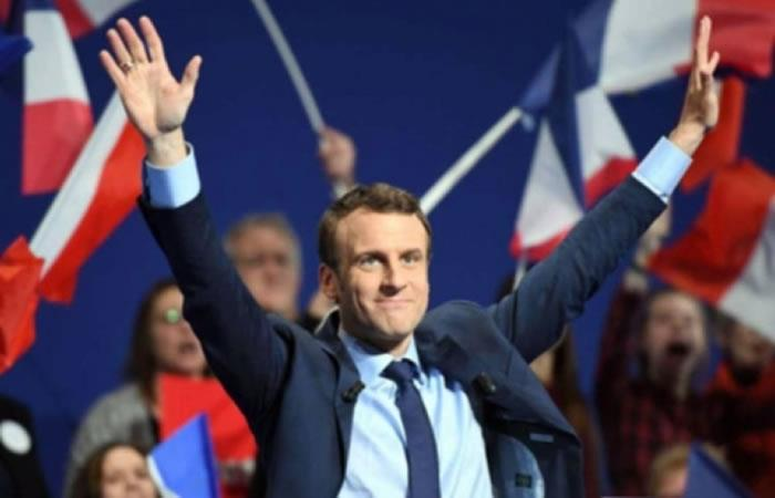 Presidente de Francia, Emmanuel Macron. Foto: ABI.