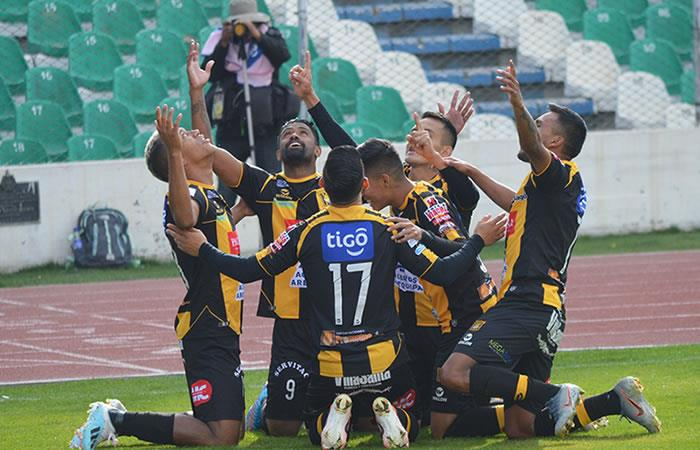 Club Deportivo The Strongest ante Wilstermann. Foto: Twitter